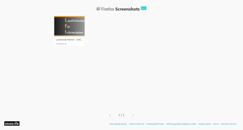 Meine Firefox-Screenshots