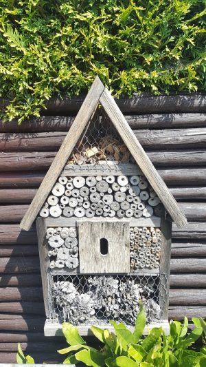Insektenhaus mehrere Jahre alt
