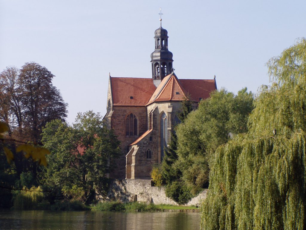 Kloster Marienrode in der Nähe des Hofcafé Kloster Marie