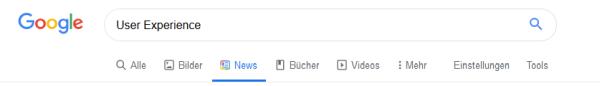 Mit Google Filtern die Suchergebnisse verbessern